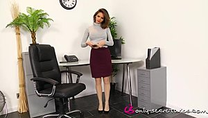 ADELE onliest SECRETARIES a couple of XXX Sex