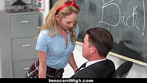 InnocentHigh - flirtatious youngster bonks tutor Hot XXX
